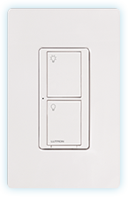 Lutron PD-6ANS Caseta Wireless In-Wall 6A Neutral Switch