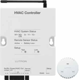 Lutron RadioRA 2 LR-HVAC-INT Temperature Controls