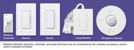 LUTRON Maestro Wireless Components