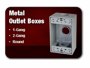 TAYMAC METAL OUTLET BOXES