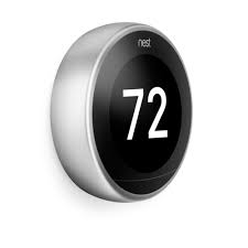 Nets T3008US Nest Learing Thermostat 3rd Generation Stainless Steel