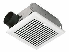 NuTone 696N 50 CFM Bath Ventilation Fan with White Grille