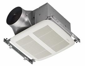 NuTone XN80 ULTRA GREEN� Series 80 CFM Single-Speed Ventilation Fan, with white grille, Recognized as ENERGY STAR