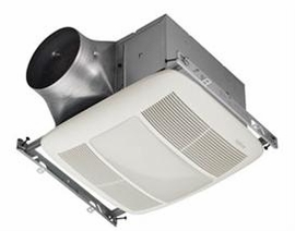 NuTone XN80L ULTRA GREEN� Series 80 CFM Single-Speed Ventilation Fan with Lighting, with white grille, Recognized as ENERGY STAR�
