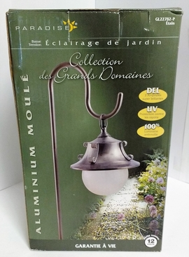 RWES GL22782P(PEWTER) LOW VOLTAGE GARDEN LIGHTING - MOON