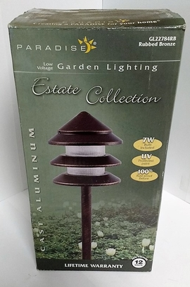 RWES GL22784RB(RUBBED BRONZE) LOW VOLTAGE GARDEN LIGHTING - NOTTINGHAM