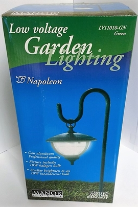 RWES LV11010GN(GREEN) LOW VOLTAGE GARDEN LIGHTING - NAPOLEON