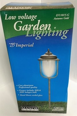 RWES LV11015-G(AUTUMN GOLD) LOW VOLTAGE GARDEN LIGHTING - IMPERIAL