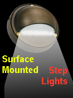 SURFACE MOUNT STEP LIGHTS