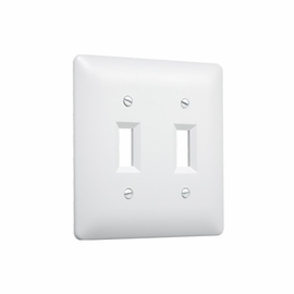 TayMac 4400W Masque  Double Toggle Switch Wall Plate