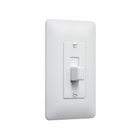 TayMac 5070W Masque Toggle Switch Cover-Up Wall Plate