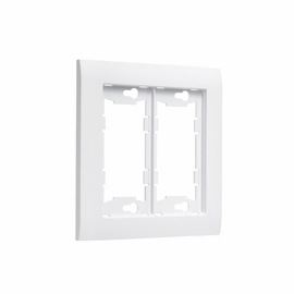TayMac A2000W Allure Two Gang Wall Plate Frame