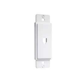 TayMac AD90W Masque Telephone Jack Wall Plate Adapter