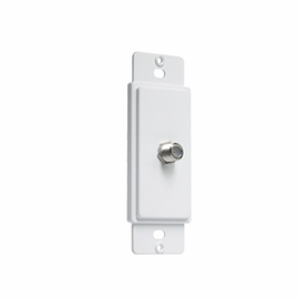 TayMac AD93W Masque Cable TV Wall Plate Adapter