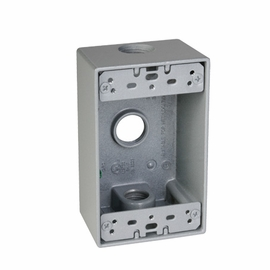 TayMac Metal Rectangular 1-GANG Outlet Boxes