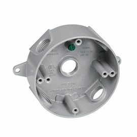 TayMac Metal Round Outlet Boxes