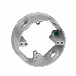 """TayMac RE450 FOUR 1/2"""" HOLE 1-GANG ROUND EXTENSION RING"""