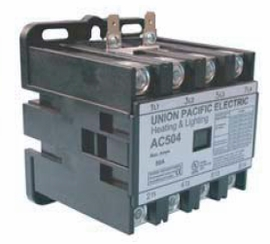 Union Pacific Electric AC404-120 40A 4P 120V Lighting & Heating Contactor