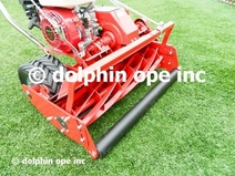 """20"""" 7-Blade PROFESSIONAL Mower with Honda GX Industrial Series Engine and Factory Installed Reel Roller"""