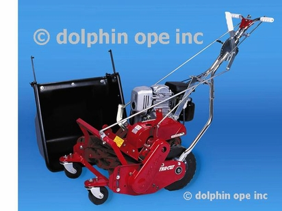 """20"""" 7-Blade PROFESSIONAL Mower with Industrial-Series Honda Engine and Front Swivel Wheels"""