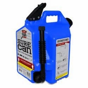 5-Gallon BLUE SureCAN Fuel Container