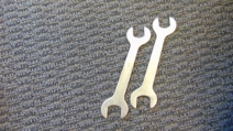 CLUTCH ADJUSTMENT WRENCHES ( 2 )
