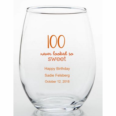 100th Party Trinket Holders