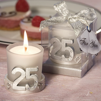 favors for 25th anniversary