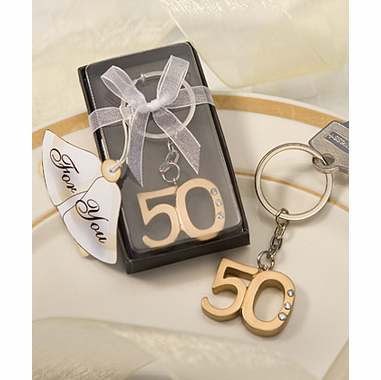 50th Anniversary Keyring