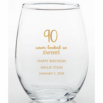 90th Party Trinket Holders