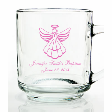 Angel Baptism Favors Mugs