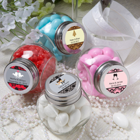 Anniversary Wedding Favors Mini Jars