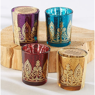 Arabian Nights Candles - Set of 4