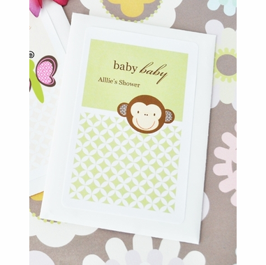 Baby Monkey Shower Favors Seed Packets