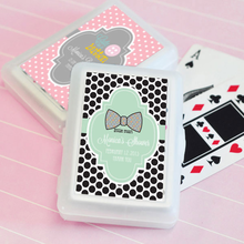 Baby Playing Cards