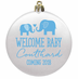 Baby Shower Ornaments - Flat