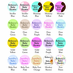 Baby Shower Pens Personalized Magnets