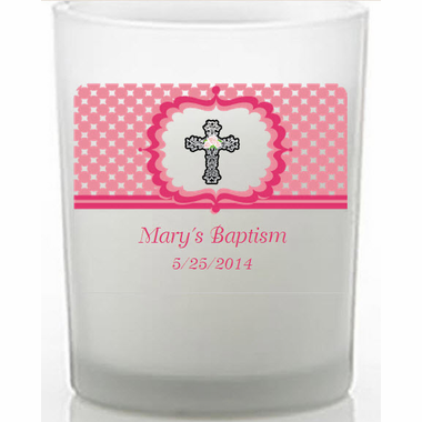 Baptism Candles for Girls