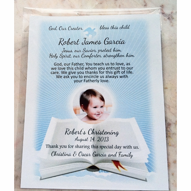 Baptism Prayer Cards