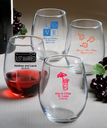 Baptism Souvenirs Personalized Glasses