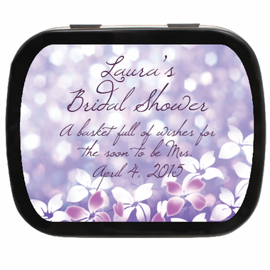 Bat Mitzvah Favors Mint Tins
