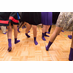 Bat Mitzvah Grippy Socks - Candy Design