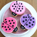 Bee and Ladybug Cookies