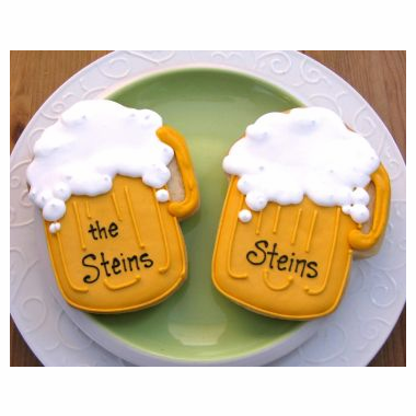 Beer Mug Cookie Favor