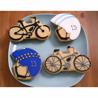 Bicycle Cookie Favors