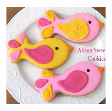 Bird Cookies Favor
