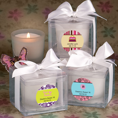 Birthday Candle Favors
