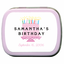 Birthday Favor Ideas Mints