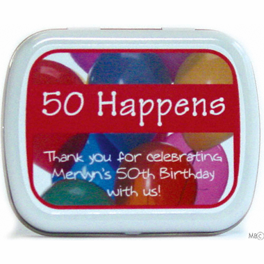 Birthday Happens Mint Tins