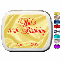 Birthday Party Favors for Adults Mint Tins